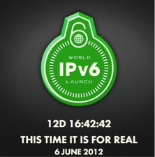 IPv6 World Launch Day - This time is it for real - 6 june 2012